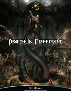 Death in Freeport cover